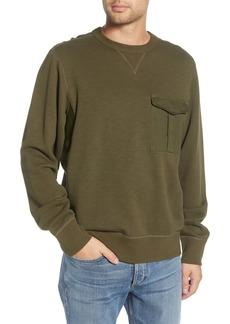 rag & bone Airington Crewneck Pocket Sweatshirt