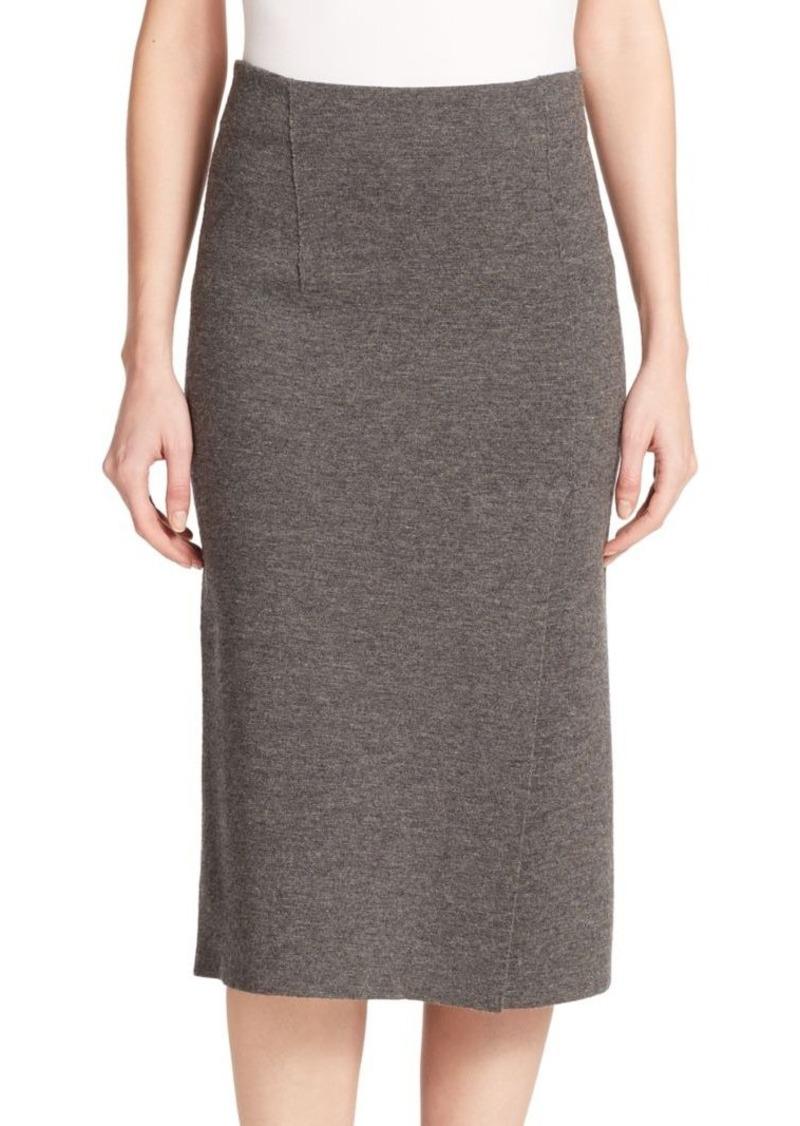 Rag & Bone Alanna Merino Wool Midi Skirt