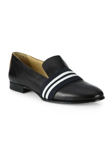 Rag & Bone Alfie Stripe Web Leather Loafers
