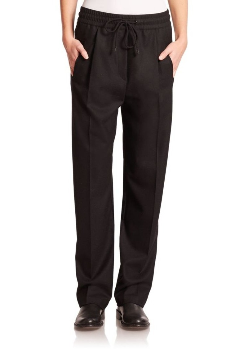 Rag & Bone Alison Pleated Stretch-Wool Pants