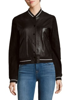 Rag & Bone Alix Stand Collar Jacket