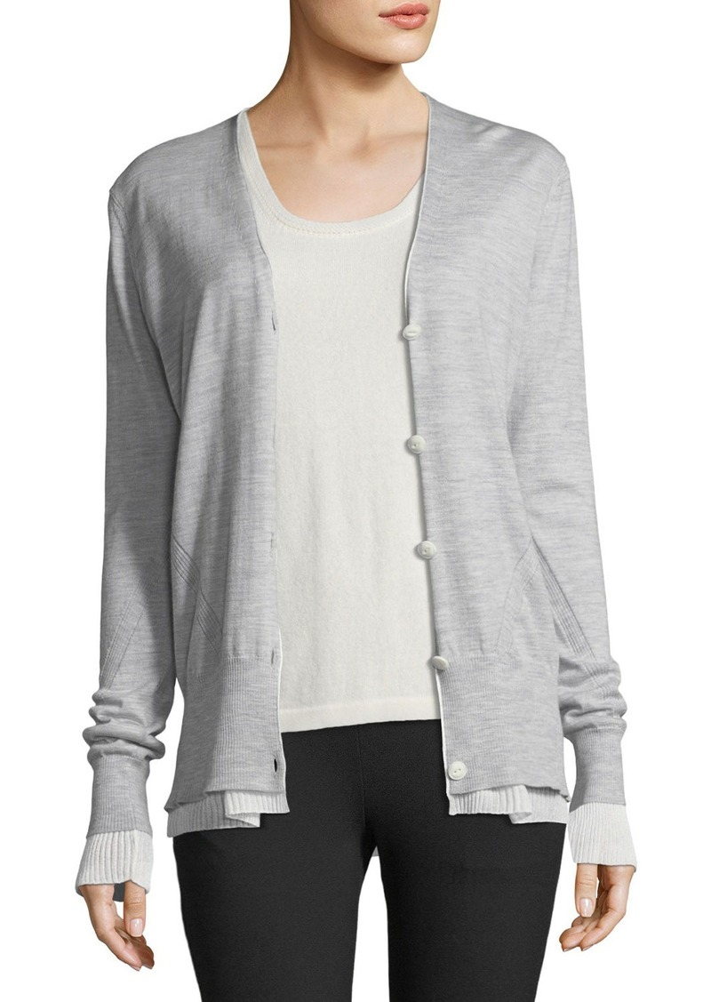 Rag & Bone Rag & Bone Alyssa Button-Front Cardigan Sweater ...