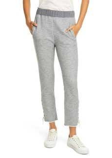 rag & bone Amelia Lace-Up Sweatpants