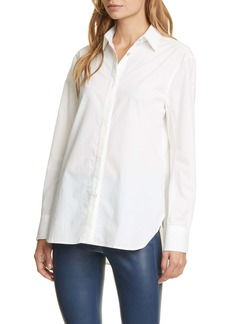 rag & bone Anderson Cotton & Silk Poplin Shirt