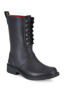 Rag & Bone Ansel Lace-Up Rain Boots