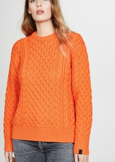 Rag & Bone Aran Crew Sweater