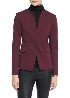 Rag & Bone Archer Two-Tone Stretch Blazer