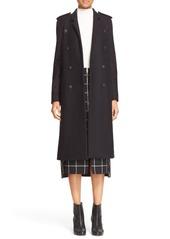 rag & bone 'Ashton' Double Breasted Wool Blend Coat