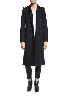 Rag & Bone Ashton Tailored Double-Breasted Peacoat