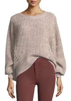 Rag & Bone Athena Oversized Knit Pullover Sweater