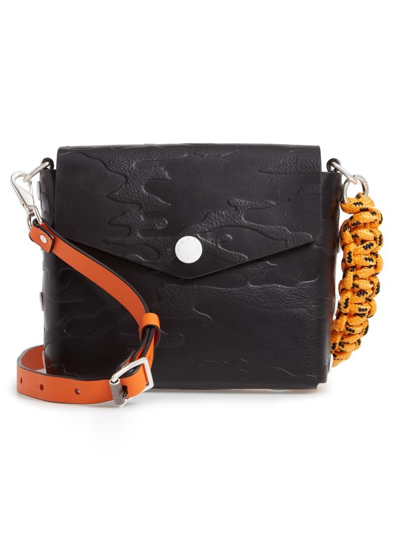 34d308b98c Rag   Bone rag   bone Atlas Camo Embossed Leather Shoulder Bag ...