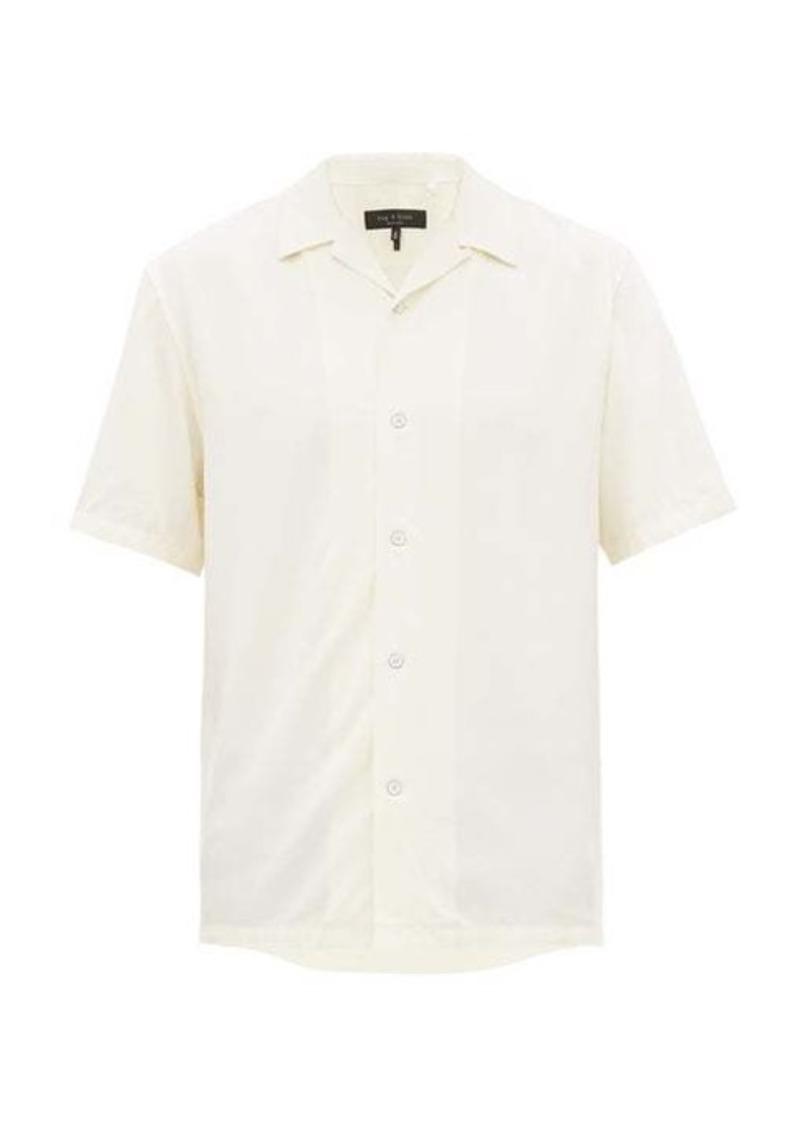 Rag & Bone Avery Cuban collar shirt