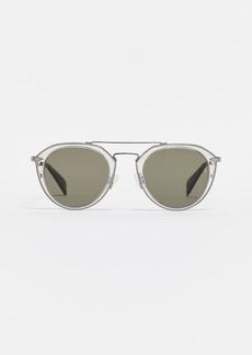 c6e0b5836691 Rag   Bone rag   bone 63mm Oversize Aviator Sunglasses