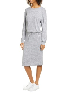 rag & bone Avryl Long Sleeve Sweatshirt Dress