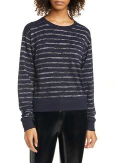 rag & bone Avryl Stripe Crewneck Sweater