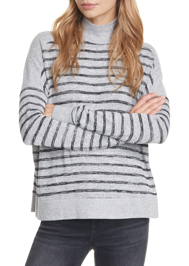 rag & bone Avryl Stripe Turtleneck Top