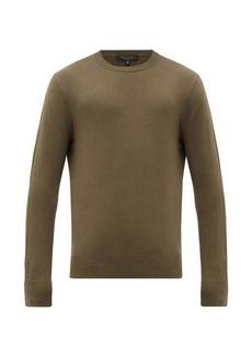 Rag & Bone Barrow side-panel cotton-blend sweater