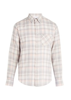 Rag & Bone Beach plaid cotton flannel shirt