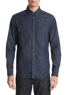 rag & bone Beck Denim Shirt