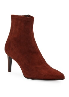 Rag & Bone Beha Stretch-Suede Ankle Booties