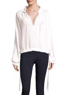 Rag & Bone Bennett Silk Top