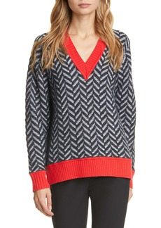 rag & bone Biata Wool & Cashmere Blend Sweater