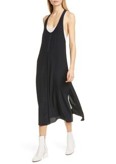 rag & bone Billie Layered Silk Midi Tank Dress