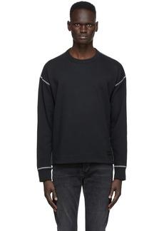 rag & bone Black Scuba Sweater