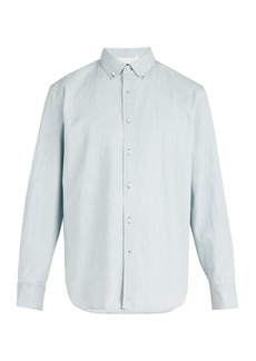Rag & Bone Bleached denim shirt