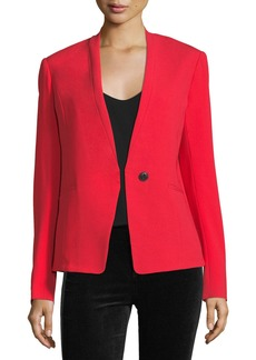 Rag & Bone Bowman Single-Button Tailored Blazer