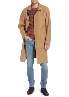 rag & bone Brent Reversible Wool Blend Coat