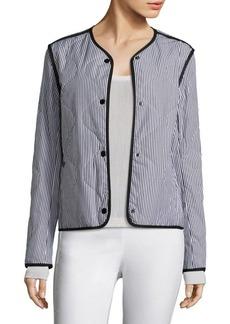 Rag & Bone Bridges Striped Cotton Jacket