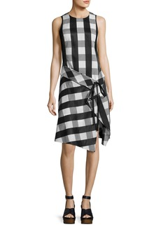 Rag & Bone Brighton Plaid Tank Midi Dress