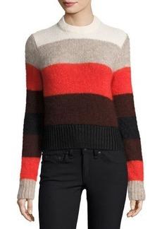 Rag & Bone Britton Striped Ribbed Sweater