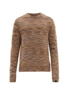 Rag & Bone Brock marled-bouclé wool-blend sweater