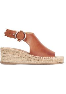 rag & bone Calla leather espadrille wedge sandals