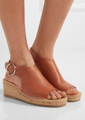 rag & bone Calla leather espadrille wedge sandals