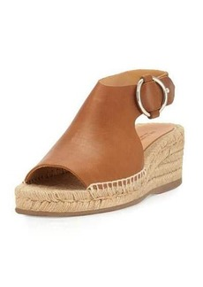 Rag & Bone Calla Leather Wedge Espadrille Sandal