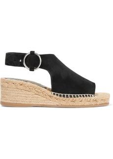rag & bone Calla suede espadrille wedge sandals