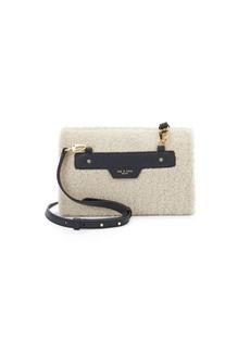 Rag & Bone Camel Melange Shearling Shoulder Bag
