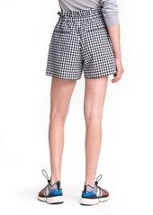 rag & bone Camille Gingham Seersucker Paperbag Waist Shorts