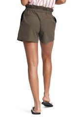 rag & bone Camille Paperbag Waist Seersucker Shorts