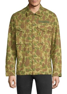 Rag & Bone Camouflage Flight Shirt Jacket