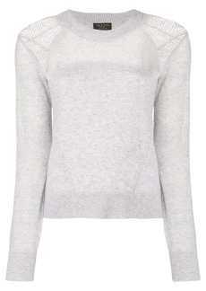 Rag & Bone cashmere fine knit sweater - Grey
