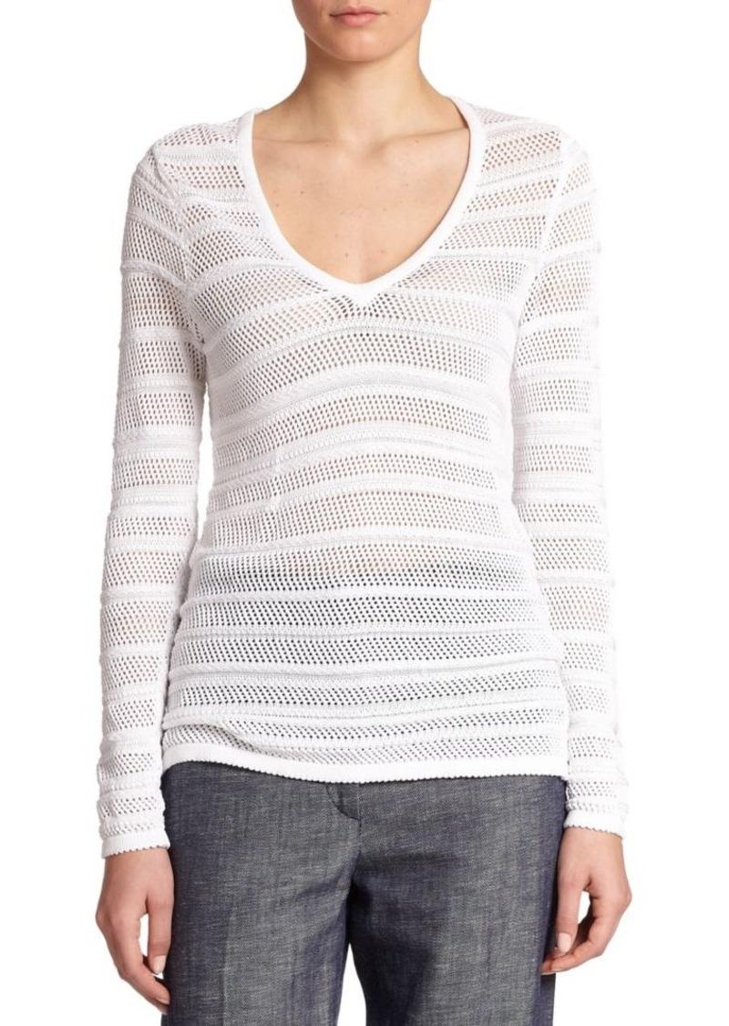Rag & Bone Cassie Open-Knit Sweater