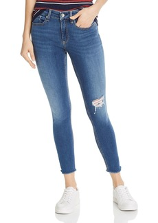 rag & bone Cate Distressed Ankle Skinny Jeans in Marion