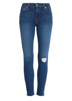 rag & bone Cate Distressed Ankle Skinny Jeans (Rue)