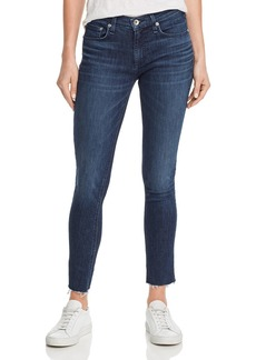 rag & bone Cate Raw-Edge Ankle Skinny Jeans in Wilton