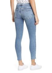 rag & bone Cate Raw Hem Ankle Skinny Jeans (Morgan)