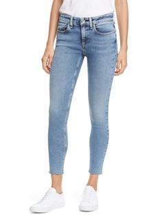 rag & bone Cate Raw Hem Ankle Skinny Jeans (Morgan)
